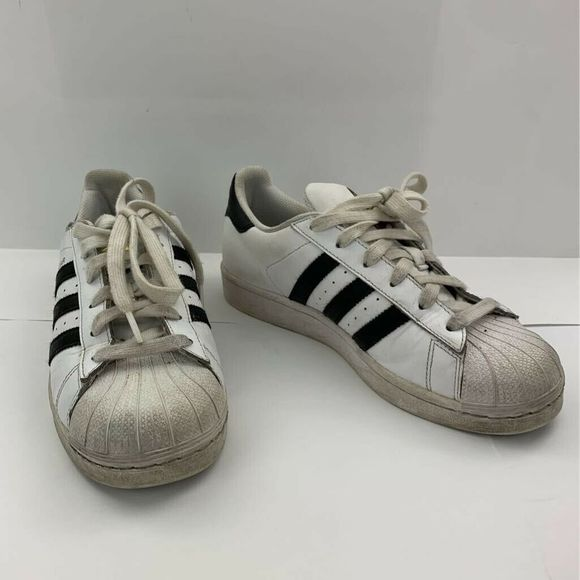 Adidas Womens Superstar Shoes White Black 6